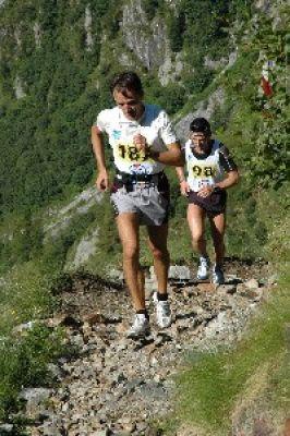 Pietro in scalata di corsa