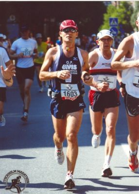 Cristian @ Stockholm Marathon 07