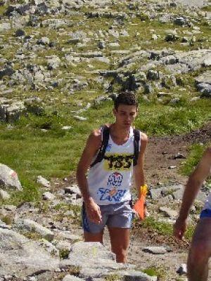 Andrea in corsa alla Blumon